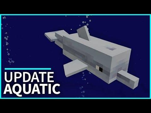 Minecraft PE Addons - NEW 1.3 UPDATE CONCEPT! Update Aquatic Addon for MCPE 1.2