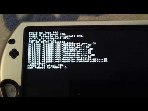HOW TO INSTALL 6.20 PRO B-10 B10 PERMANENT PATCH ON PSP GO (NO PANDORA) *PSP 1000 2000 3000 Go*