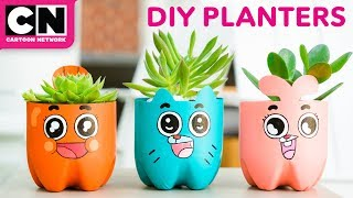 The Amazing World of Gumball | DIY Soda Bottle Planters | Cartoon Network | LET