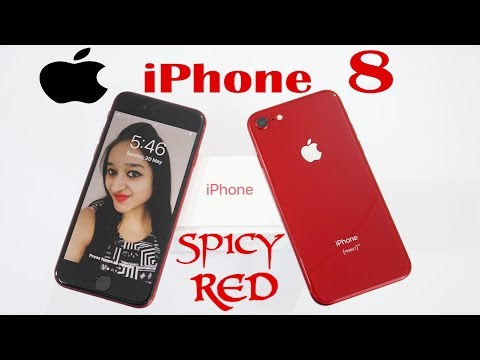 IPHONE 8 RED LIMITED EDITION INDIA(SPICY RED) IN HINDI