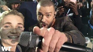 The Story Behind Viral Super Bowl 52 #SelfieKid Meme w/ Justin Timberlake?   What