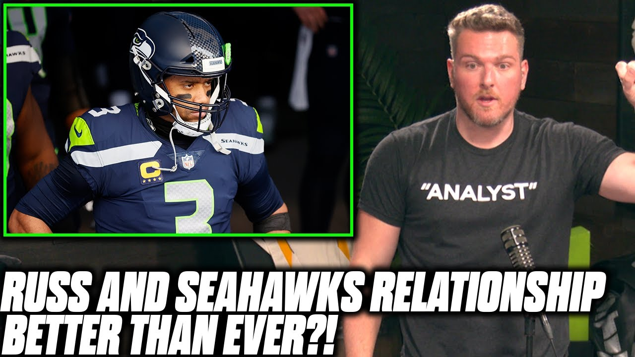 """Pat McAfee Reacts To Report Russell Wilson And The Seahawks Are """"Better Than Ever"""""""