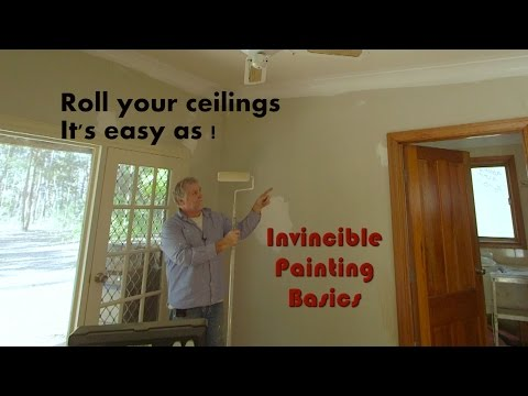 Shack Part 6-How to roll your ceilings-More tips and tricks-