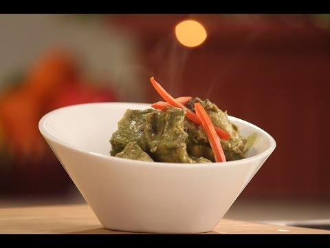 Green Masala Chicken Curry | 5 Best Chicken Curries | Sanjeev Kapoor Khazana