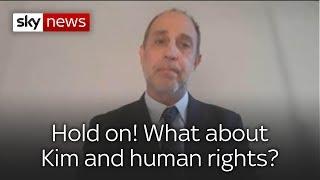 Tomas Ojea Quintana, UN special rapporteur on human rights in North Korea