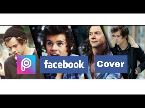 How To Creat Facebook Cover On Picsart (New)
