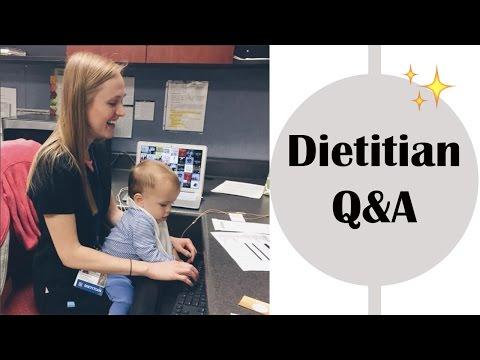 Registered Dietitian Q&A (Finding a Job, Debt, Master's Programs, ect)