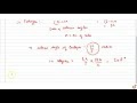 JEE MAINS 2018 Find the magnitude, in radians and degrees, of the interior angle of a    regular...