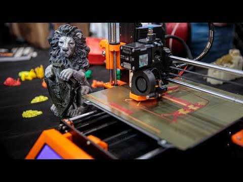 3D Printing Multiple Colors with Prusa i3's Upgrade!