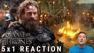 Download Game of Thrones Reaction | 5x1 ″The Wars to Come″ Video