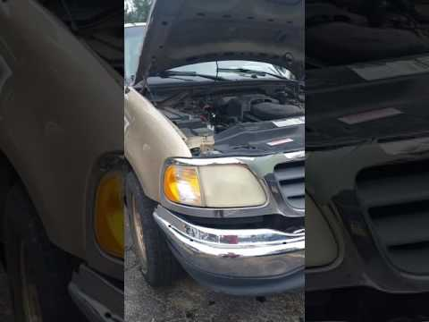 1997-2003 Ford F-150 5.4 liter heater core bypass (delete)