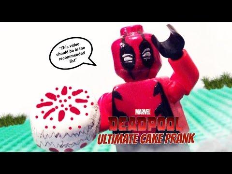 Deadpool's Ultimate Cake Prank