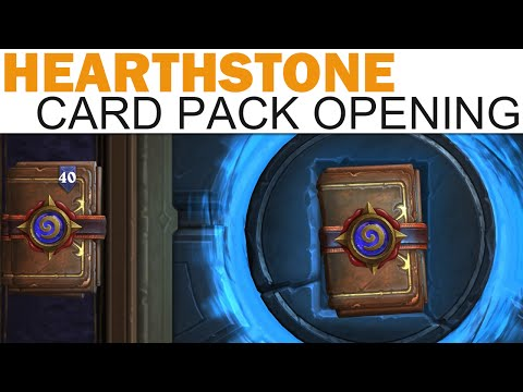 Hearthstone - Card Pack Opening #13 - 20 More Packs! (NAXXRAMAS EDITION)