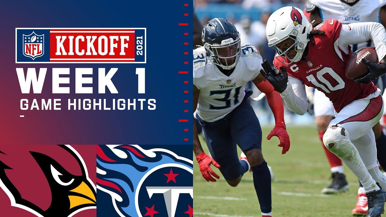 Cardinals vs. Titans Week 1 Highlights | NFL 2021