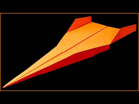 How to make a Paper airplane that FLIES FAR ~ 100 FEET - BEST paper airplanes in the world . Linda