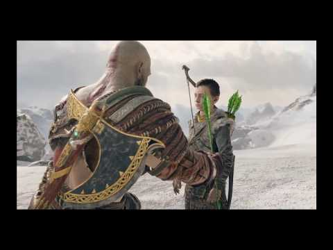 God of War LETS PLAY EP.15 [MEETING MEOWMEOW THE HEAD]