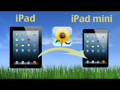 iPad to iPad Mini (Photo Transfer): Copy iPad Photos to new iPad or Move iPad Data to iPad Mini 2