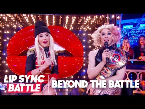 Johnny Weir & Tara Lipinski Go Beyond the Battle | Lip Sync Battle
