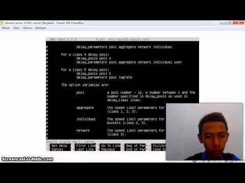 konfigurasi proxy ubuntu server 12.04 oleh ageng by