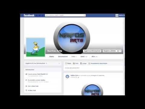 come mettere le gif animate sull' immagine del profilo di facebook.