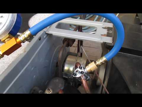 DIY Air Conditioning House AC Refill Recharge with R134A - Video 3