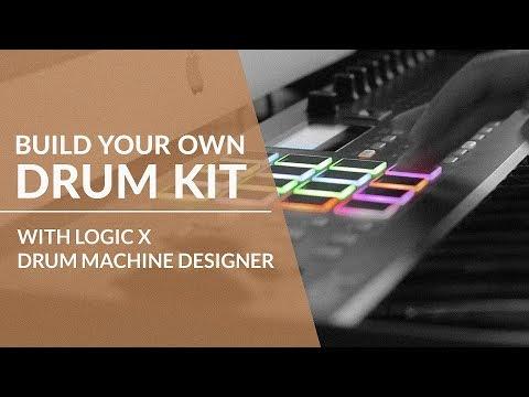 Build Your Custom Drum Kit with Logic Pro X Drum Machine Designer