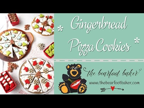 How to Make Gingerbread Pizza Cookies