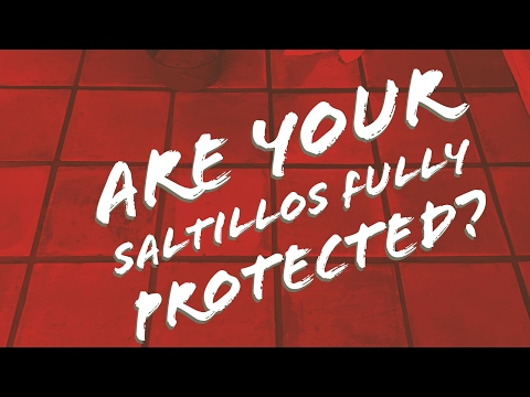How do you know if your terracotta Saltillo tiles are sealed correctly