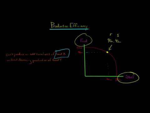 Production Efficiency in Economics