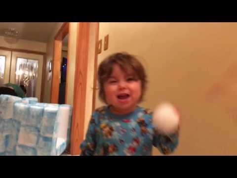 Christmas Night Snowball Fight