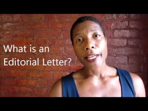 What is an Editorial Letter?