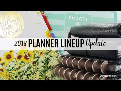 2018 Planner Lineup Update and Why I Removed the Happy Planner Wellness and Budget Packs