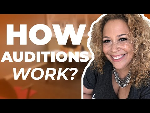 Here is How The Audition Process Works.