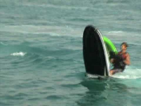 Stand Up Jet Ski Jumps and Subs