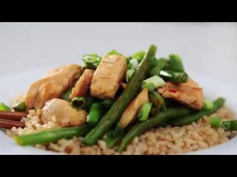 Chicken and Green Bean Stir Fry Recipe