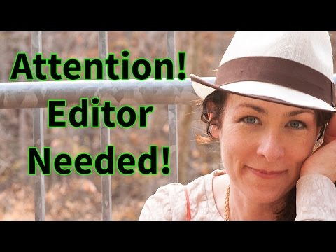 How to Find an Editor - Newly Updated