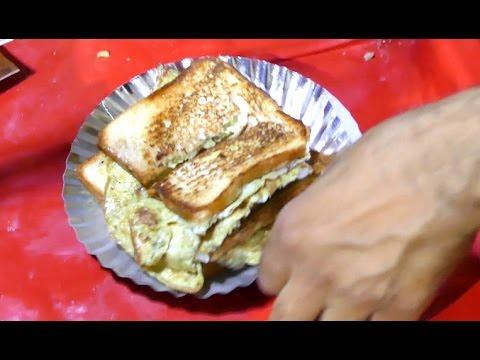 Bread Omelet | Healthy Breakfast Menu  | Step by Step | DELHI STREET FOODS street food