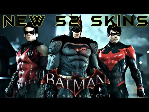 Batman Arkham Knight New 52 Skins Batman Robin And Nightwing Free