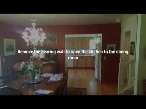 Creating an open kitchen