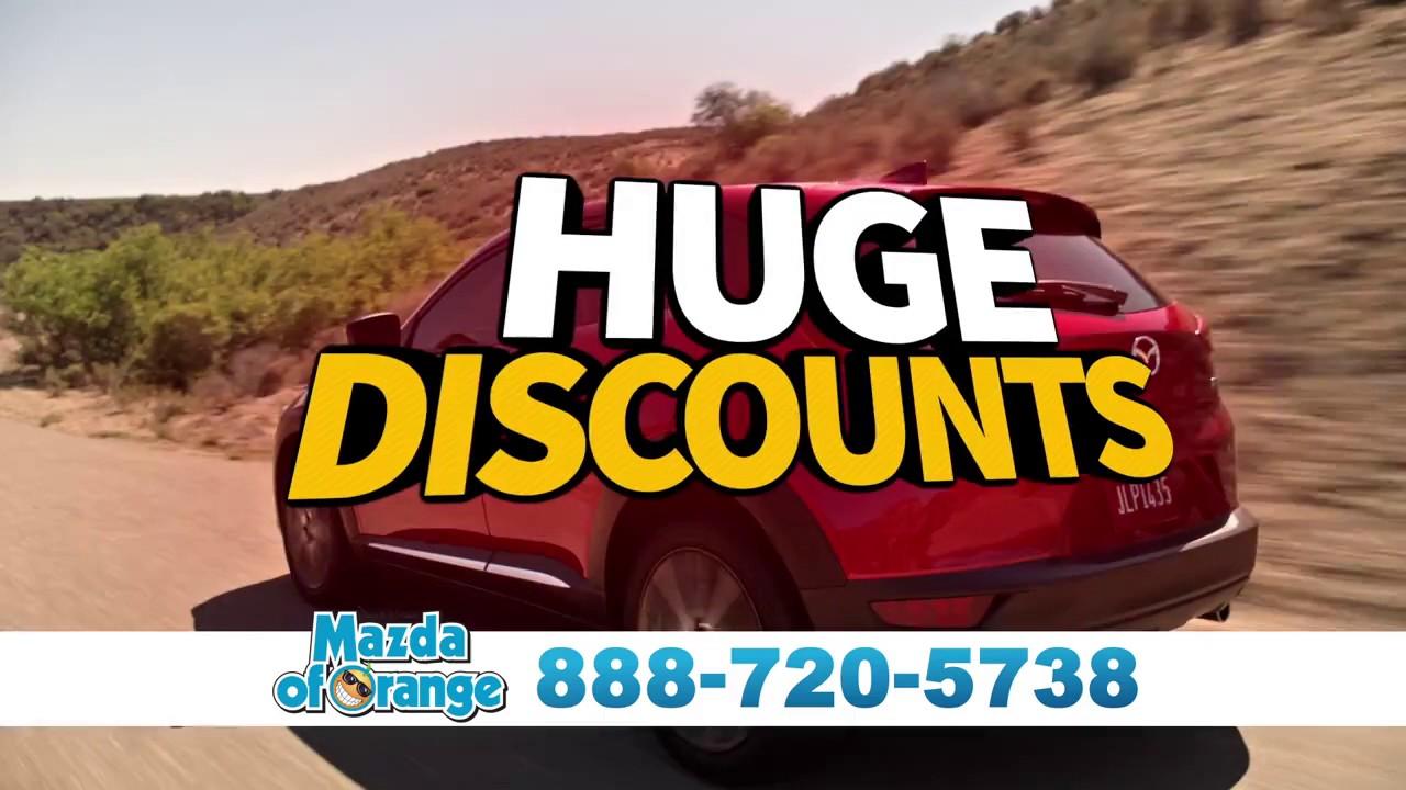 Mazda of Orange Year End Sales Event - Advantage Club