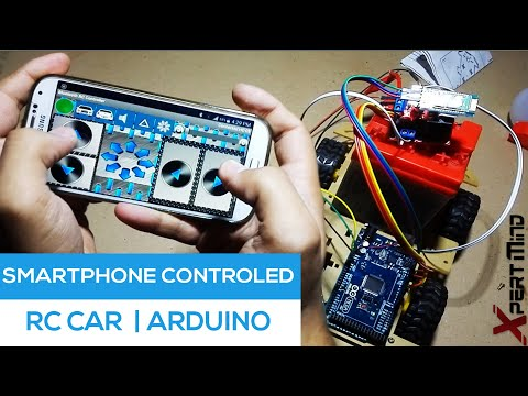 Smartphone Controlled Rc Car Through Bluetooth [Arduino Project]