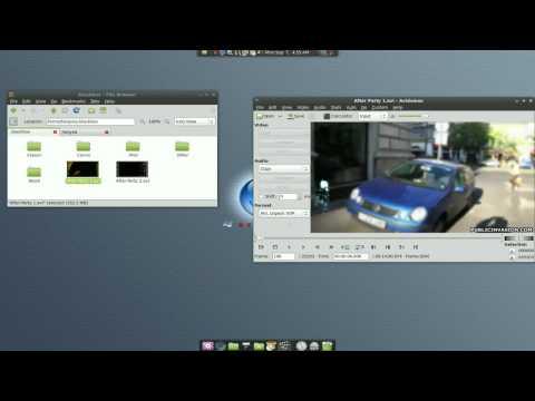 Join Files (Avi/Mpg/etc) - Avidemux - Linux Mint 7