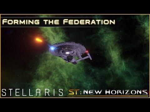 Forming the Federation - Ep 2 - Star Trek: New Horizons - Stellaris