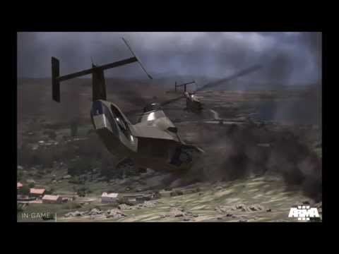 Anyone can land with ArmA 3 Advanced Flight Model.