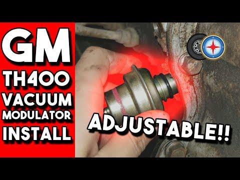 Vacuum Modulator Installation GM TH350/TH400 Transmission | FIXES SHIFT PROBLEMS!