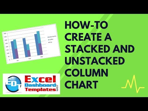 How-to Create a Stacked and Unstacked Column Chart in Excel