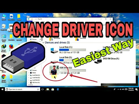 How to Change Drive icon of Pendrive | COOL TRICK