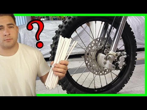Make Dirt Bike Wheels Any Color With These