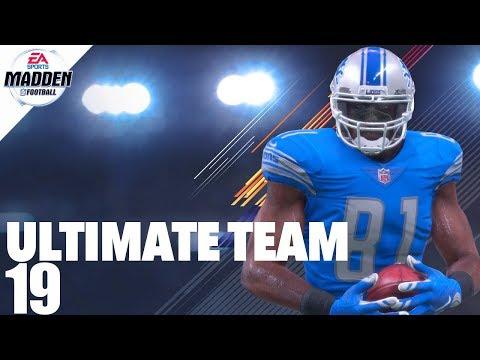 Madden 18 Ultimate Team - Brand New Calvin Johnson Ep.19