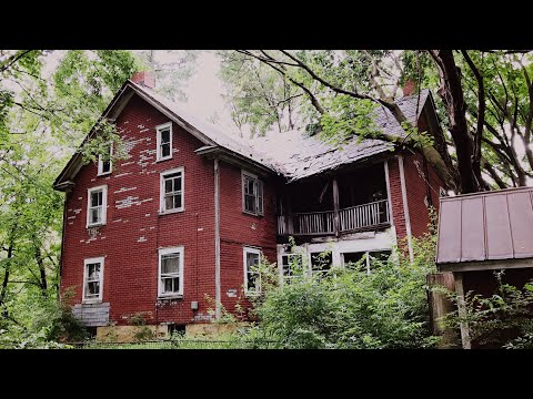HUGE Abandoned Mid-1800s House *ANTIQUE Furniture & Mansion Explore FAIL